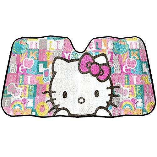 Hello Kitty Car Sunshade - Infinity Stock Hello Kitty Auto Sun Shade Universal Size Fit 58