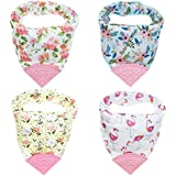 Honey Molly Baby Bandana Bibs for Teething and Drooling...