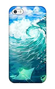 1207901K504579469 original animal fishoriginalsky stars mark yuumei Anime Pop Culture Hard Plastic iPhone 5/5s cases