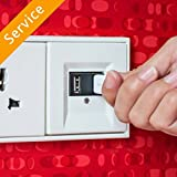 USB Wall Outlet Installation