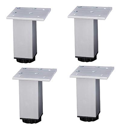 Patas de los muebles Ajustables De Aluminio De Altura ...