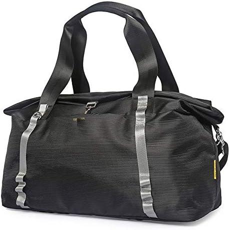 メンズ荷物袋 メンズファッションの軽量トラベルボストンバッグオックスフォード布防水荷物ジムスポーツトートバッグ旅行ショルダーバッグ特大ビジネスバッグ 柔らかく快適な耐摩耗性 (色 : Blue, Size : 50x23x30cm)