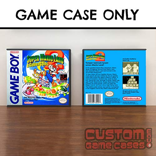 Gameboy Super Mario Land 2: 6 Golden Coins - Game Case (Super Mario Land 2 6 Golden Coins)