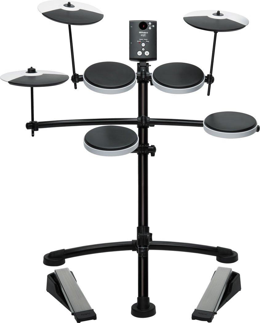 【純正ドラムマット + イス + スティック + ヘッドホン付】Roland/ローランド TD-1K V-Drums 高品質なサウンドで気軽に演奏が楽しめる、コンパク. B00OZNYIQA