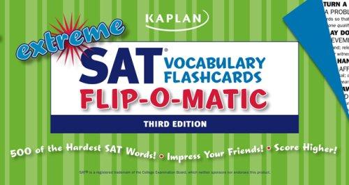 Extreme SAT Flashcards Flip-O-Matic