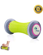 Beupro Foot Massage Roller, Muscle Roller Stick for Plantar Fasciitis Recovery and Tight Muscles Relax