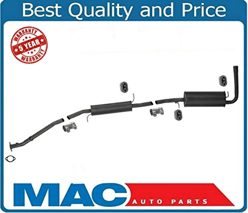 Mercury Villager Exhaust Muffler (Mac Auto Parts 127428 Villager Quest 3.3L Federal Emissions Only Exhaust Muffler System Pipe)