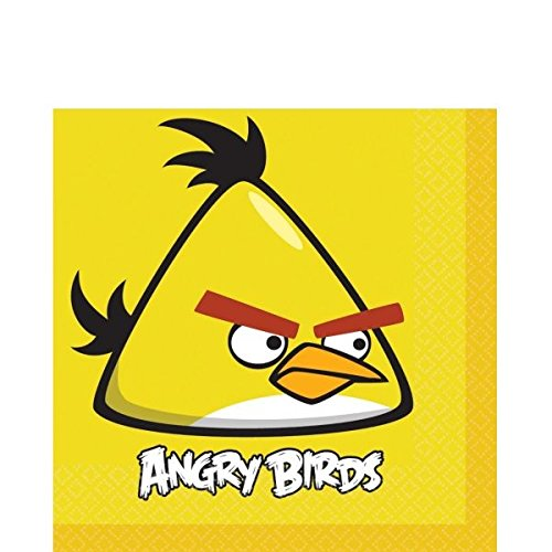American Greetings Angry Birds Lunch Napkins (16 (Angry Birds Plates)