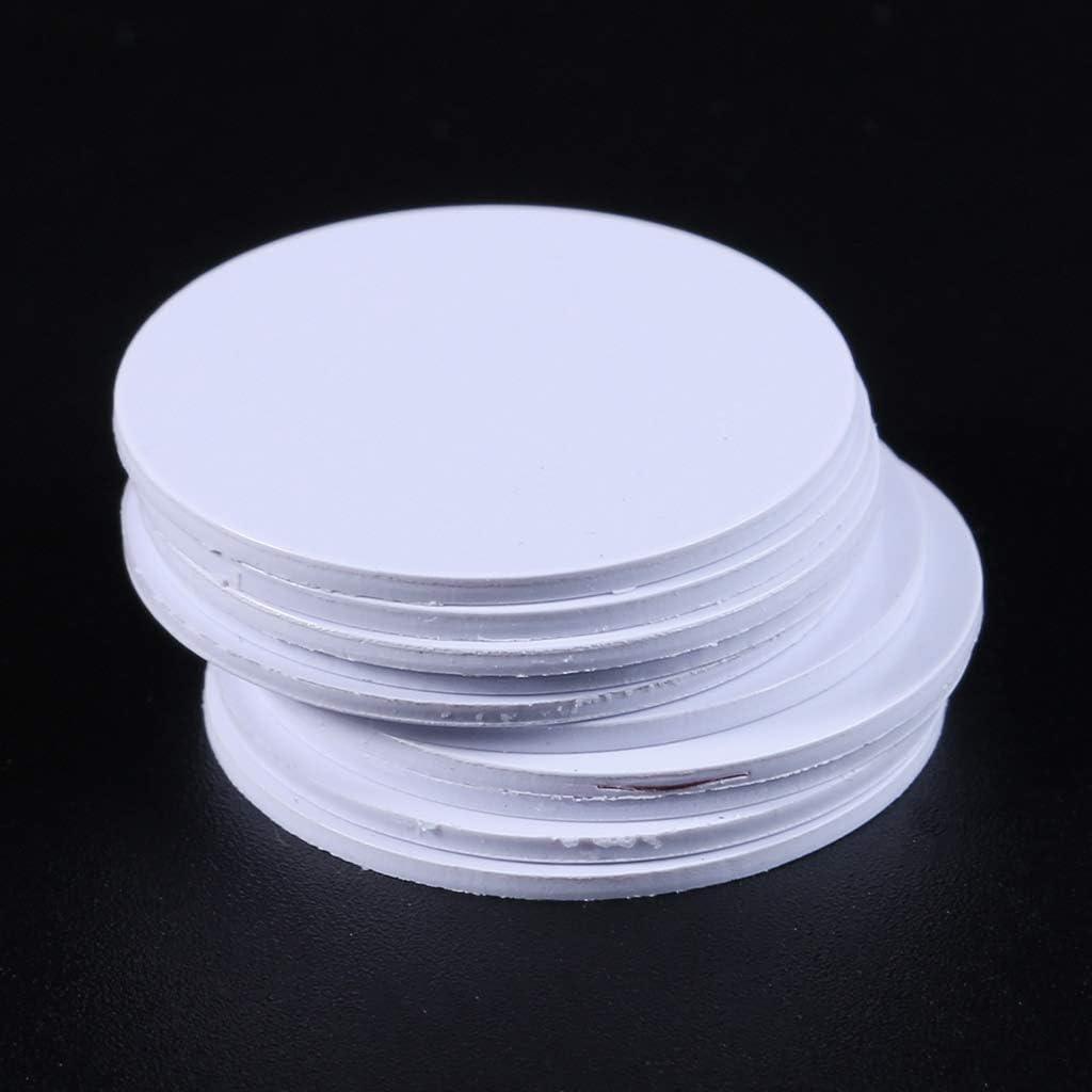 ZChun Lot de 10 /étiquettes NFC Ntag215 25 mm pour t/él/éphone disponibles /Étiquettes adh/ésives RFID 504 octets