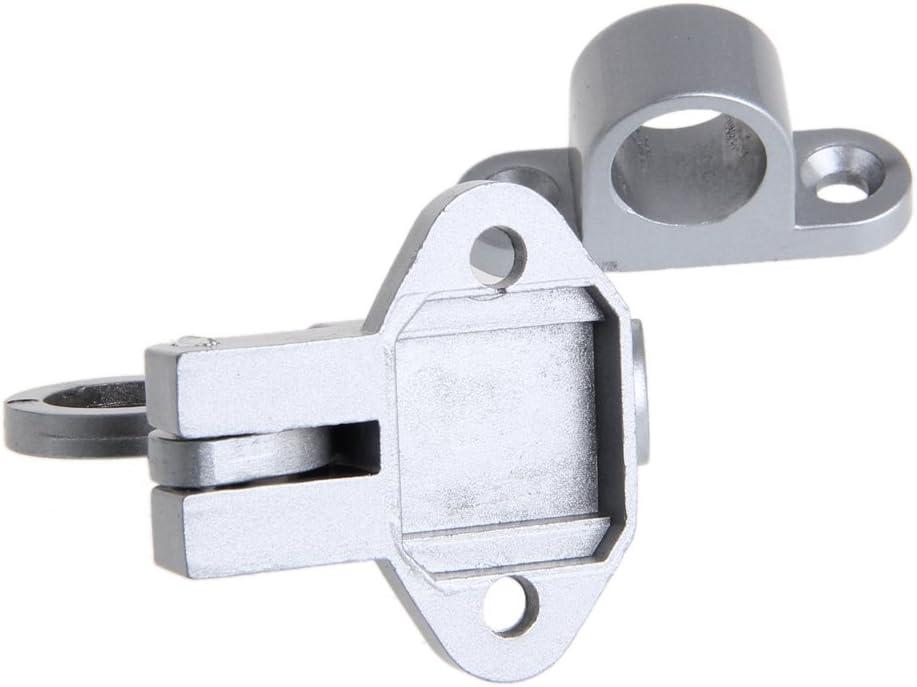 JunYe Puerta de la Ventana Seguridad Anillo de tracci/ón Resorte Rebote Perno de la Puerta Cerradura de Cierre de Aluminio Blanco Blanco