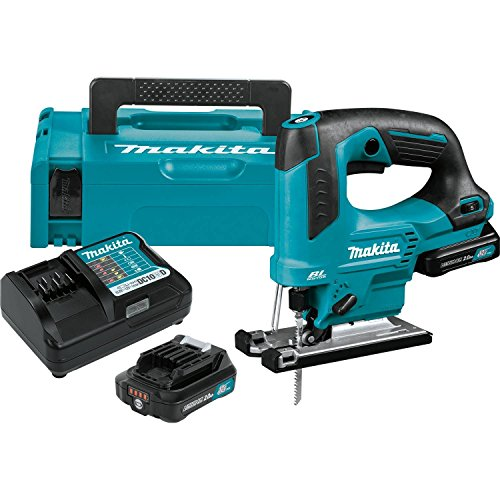 Makita VJ06R1J 2.0Ah 12V max CXT Lithium-Ion Brushless Cordless Top Handle Jig Saw Kit
