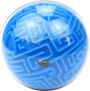 Mallalah - Bola de laberinto mágico de mini laberinto de gravedad 3D bola de mármol rompecabezas juego: Amazon.es: Juguetes y juegos