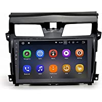 SYGAV Double Din Car Stereo for 2013-2015 Nissan Altima Android 7.1.1 Nougat Touch Screen GPS Sat Navigation FM AM Radio 10.2 Inch 2G RAM LCD Monitor Head Unit