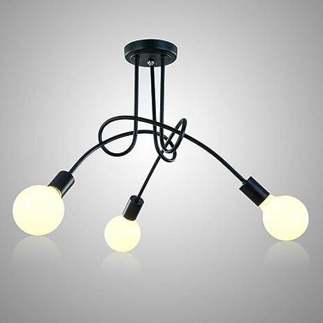 de lámparas estar Luces para de techo sala vintage QrdhCtsxB