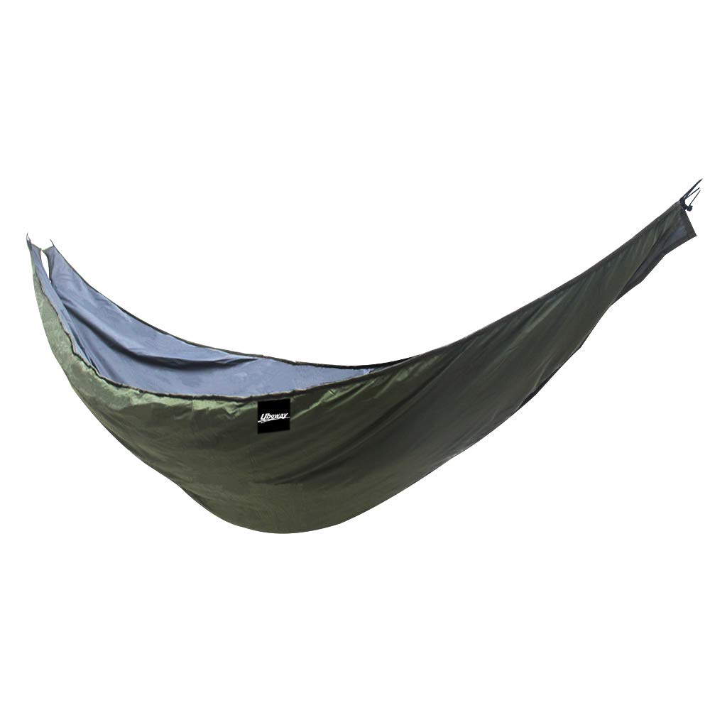 UBOWAY Unique Underquilt Hammock - Outdoor Sleeping Bag for Camping, Backpacking, Backyard(Green) by UBOWAY