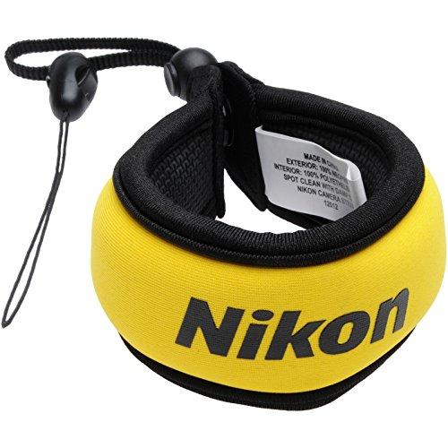 Nikon Coolpix Floating Camera Strap (Yellow) by Nikon