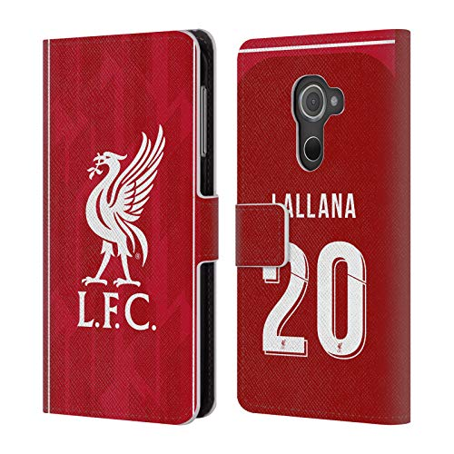 Official Liverpool Football Club Adam Lallana 2018/19 Players Home Kit Group 1 PU Leather Book Wallet Case Cover for BlackBerry DTEK60