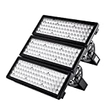 Viugreum 300W LED Flood Lights Outdoor, 30000 Lumen, Warm White (2800-3200K) 60° Beam Angle LED Spot Light, IP67 Waterproof Security Light, Stadium Lights Work Light Long Distance Lighting