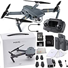 DJI Mavic Pro Collapsible Quadcopter Ultimate Bundle