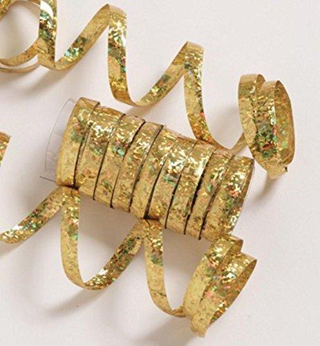 gold serpentine streamers - 8