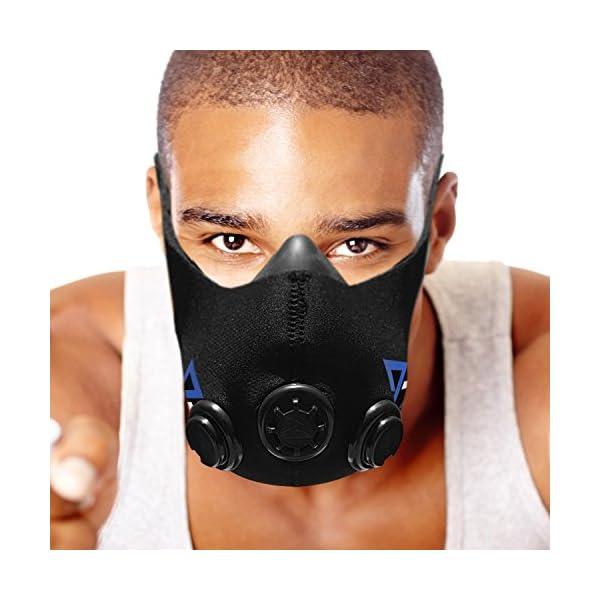 Training Mask Elevation Basic per allenamenti, running, sport, HIIT training [1anno di garanzia] 1 spesavip