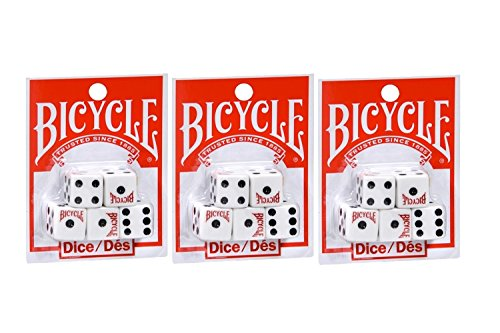 - Bicycle Five Dice Set (3 Pack)