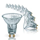 OSRAM halogen spotlights GU10 dimmable Halopar Superstar /EEC D / 50 watt / 100 lumen / warm white - 2700K, set of 10