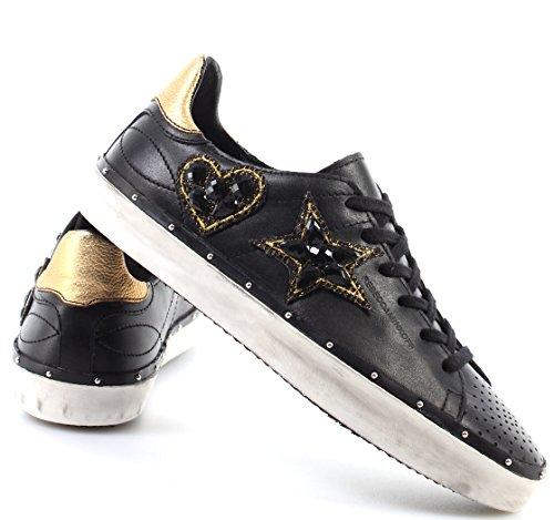 Black Scarpe Swarovski Sneakers Nere Nappa Minkoff Donna Nuove New Rebecca Low Z5xwqYfW