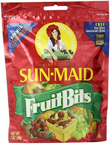 Dried Fruit & Raisins: Sun-Maid Fruit Bits