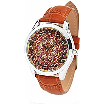 Boho Watch, Indian Style Leather Watch, Women Watches, Unique Gift for Her