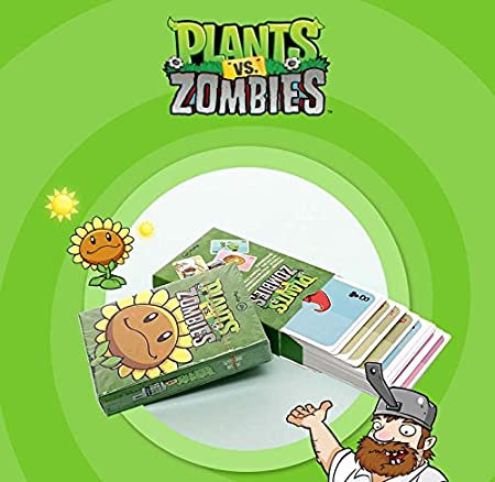 Plants vs Zombies * 54 Playing Cards / Juego de Poker / Naipes Oficial - Original & Official Licensed: Amazon.es: Juguetes y juegos