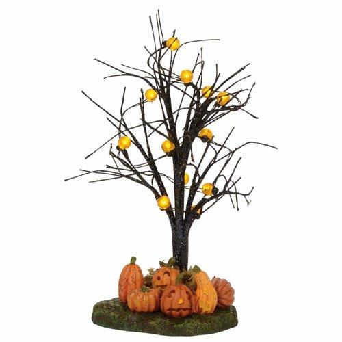 Department 56 Accessories for Villages Halloween Lit Jack-O-Lantern Village Tree