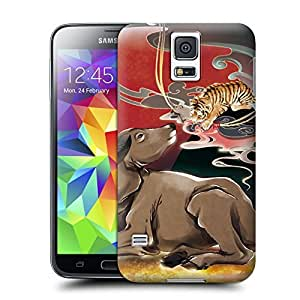 Unique Phone Case Twelve Zodiac Figure Ugly cow Hard Cover for samsung galaxy s5 cases-buythecase