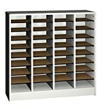 Ironwood Literature Organizer with 36 Compartment, Grey (LO36GG)