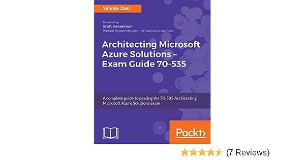 Amazon com: Architecting Microsoft Azure Solutions – Exam