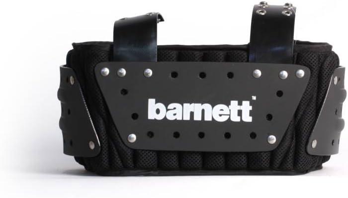 und R/ückenschutz Barnett MBP-01 American Football Rippen Farbe schwarz