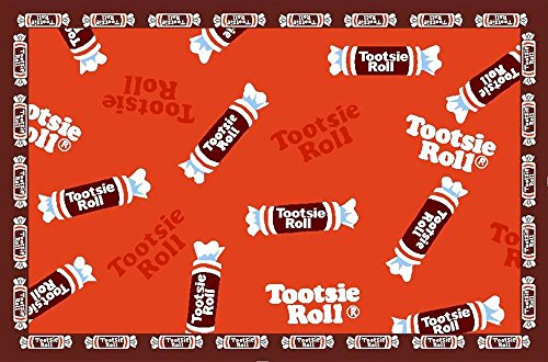 LA Rugs Tootsie Roll Candy Rug - 39x58