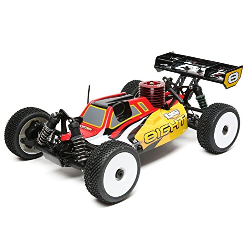 Nitro Powered Model - Losi 1/8 8IGHT 4WD Nitro RC Buggy RTR
