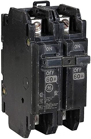 2P Standard Circuit Breaker 60A 120 240VAC