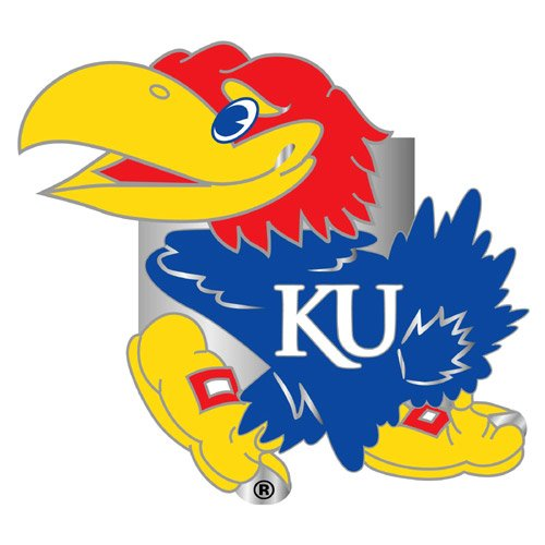 NCAA Kansas Jayhawks Hitch Cover, Class -