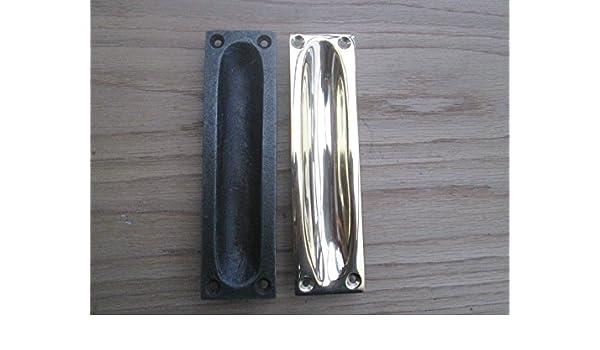 Ironmongery World® empotrada Puerta Corredera rasante tirador en ...