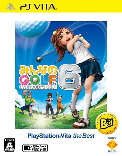 みんなのGOLF 6 PlayStation Vita the Best