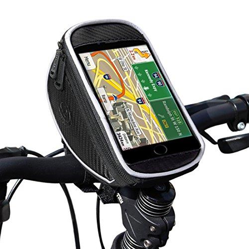 Fahrrad lenkertasche, Ubegood Handyhalter Fahrrad Tasche mit wasserdichte für iPhone 6s Plus/6 Plus/Samsung s7 edge andere bis zu 5,5 Zoll Smartphone