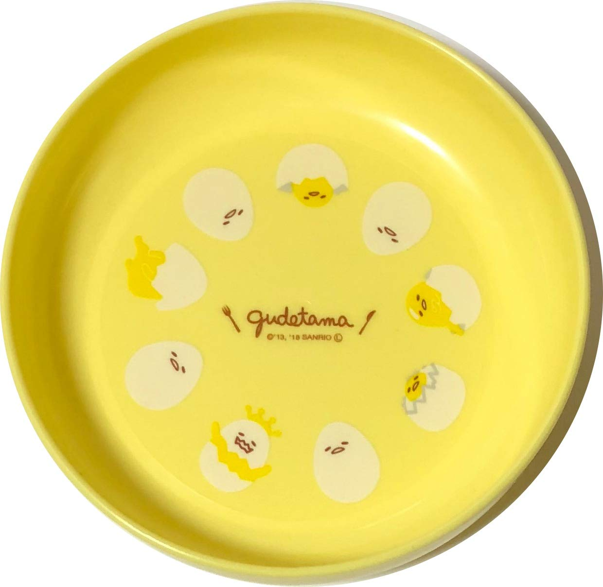 Sanrio Gudetama Mini Bowl Small Dish Polypropylene 13 /× 3 /× 13 cm Microwave OK Dinnerware Saucers Kitchen Cute