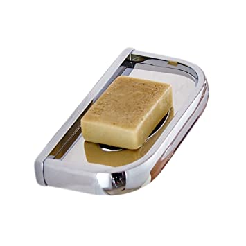 Amazoncom Leyden Tm Solid Brass Soap Dish Holder Wall Mount
