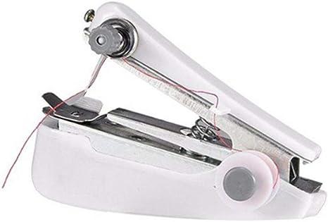 LIIYANN La Mini máquina de Coser Manual portátil Blanca es fácil ...