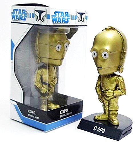Wacky Wobbler Star Wars C-3PO Cabezon PVC APPR 16cm Fu
