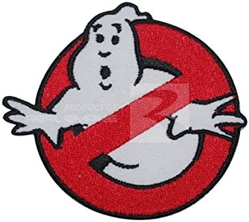 Ghostbusters Movie Logo Embroidered Iron on Patch