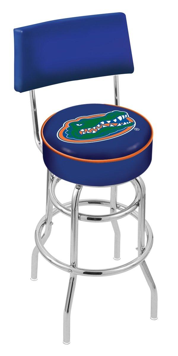 amazoncom university of florida gators swivel bar stool with back sports u0026 outdoors