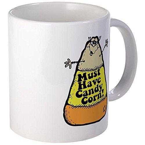 - CafePress Funny Halloween Candy Corn Mug Unique Coffee Mug, Coffee Cup